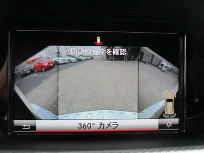 360°カメラ、バックカメラ