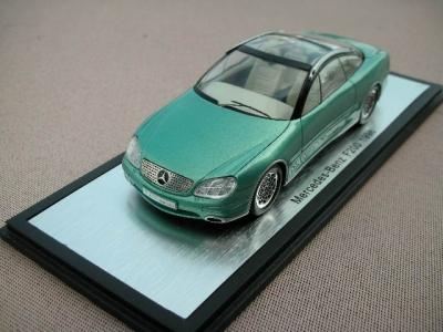 1/43メルセデスベンツミニカー本国純正ミニカー メーカー特注品 F200 1996y