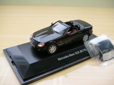 1/43メルセデスベンツ本国純正ミニカー メーカー特注 W170 SLK ブラック