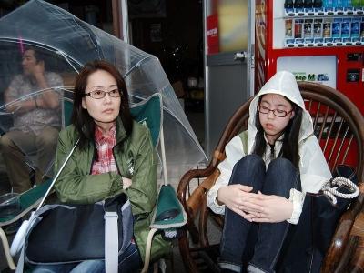 """〜新人女子スタッフ""""櫻井""""の1日〜05 雨降ってきたんで、"""