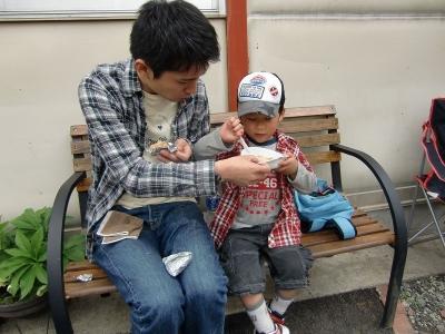 思い出のアルバム29 濱崎 様父子