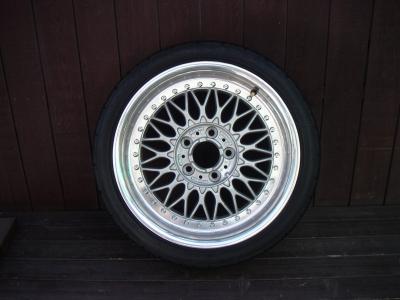 BBS 17インチ、タイヤセット ToyoプログレスT1R