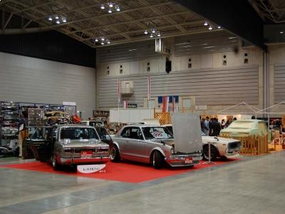 2月28日、3月1日の初の旧車イベント・パシヒィコ横浜に出展致しました。