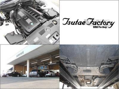 BMWといえばストレート6!搭載の2.5L直列6気筒DOHC N52後期エンジンは最大出力177ps/5800rpm、最大トルク23.5kg・m/3500〜5000rpmを発揮。ローポジション&オープンカーならではの加速感を満喫できますよ。