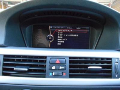 ワイドモニターの純正HDDナビゲーション