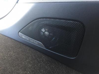 オプションとなるドイツの高級オーディオメーカー、ハーマン・カードンのスピーカーシステムを装備。