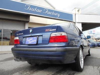 トランクに貼られた「ALPINA」と「B3 3.0/1」のエンブレムが、この車の存在感を更に引き立てています!! ★各種キャンペーン&ブログ公開中!!