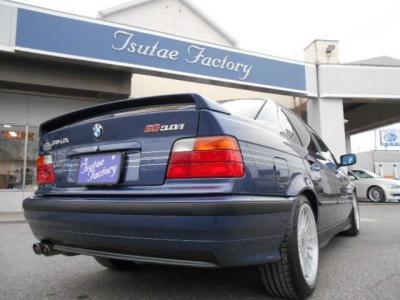 希少E36型アルピナB3 3.0/1 5MT、しかもアルピナブルー!!★ご購入後のメンテナンスも元BMW正規ディーラーメカニック多数在籍の「つたえファクトリーに」お任せ下さい!「http://tsutae-factory.com」