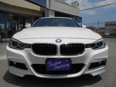 人気色アルピンホワイト3の現行F31型328iスポーツ!! ★ご購入後のメンテナンスも元BMW正規ディーラーメカニック多数在籍の「つたえファクトリーに」お任せ下さい!「http://tsutae-factory.com」