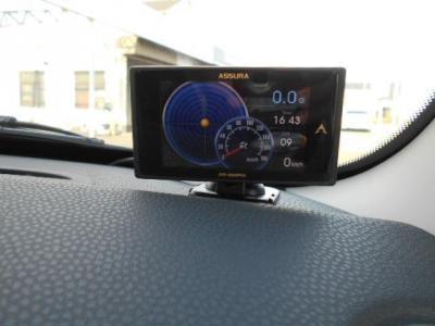運転が楽しくうっかり出しすぎてしまうスピードもこのレーダー探知機があれば安心ですね!!