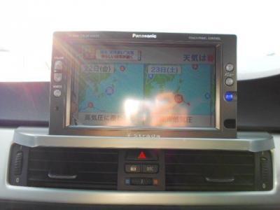 Panasonic社製ストラーダのHDDナビ搭載!地デジテレビ、バックカメラ搭載です!!