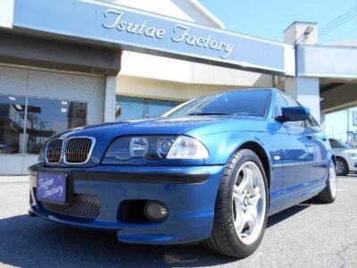 希少E46型330i Mスポーツトパーズ・ブルー 左Hの5MT!★ご購入後のメンテナンスも元BMW正規ディーラーメカニック多数在籍の「つたえファクトリーに」お任せ下さい!「http://tsutae-factory.c