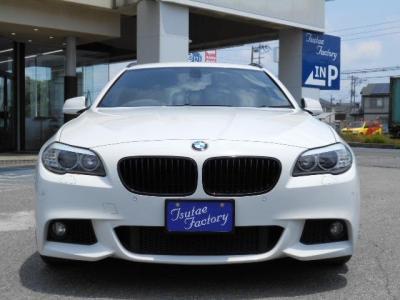 人気色アルピンホワイト3のF11型523i ツーリング Mスポーツターボエンジンモデル!★ご購入後のメンテナンスも元BMW正規ディーラーメカニック多数在籍の「つたえファクトリーに」お任せ下さい!