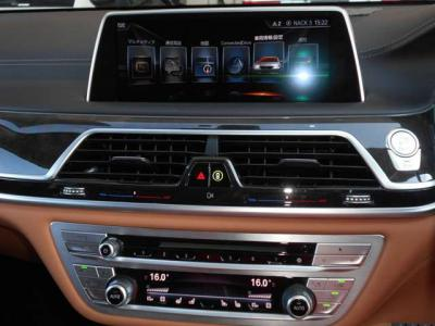 現行型ワイドモニターでは車両情報やオーディオ、ナビゲーション、インテリジェントセーフティの設定などが出来ます。CD/DVDはもちろんフルセグ地デジも視聴可能です。