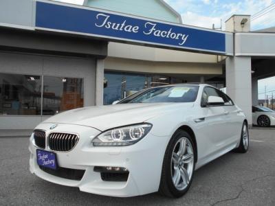 BMW F06 640i グランクーペ Mスポーツパッケージ 大人気アルピンホワイト入庫致しました! ★ご購入後のメンテナンスも元BMW正規ディーラーメカニック多数在籍の「つたえファクトリーに」お任せ下さい!「http://t