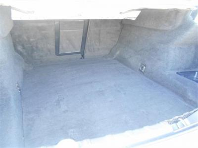 トランクルームは、奥行約110cmを確保。 室内と同様に広々とした空間になっています。