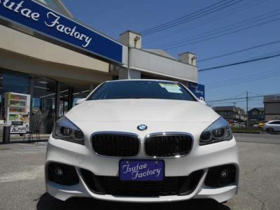 BMW F45型218dアクティブツアラーMスポーツが入庫致しました!★ご購入後のメンテナンスも元BMW正規ディーラーメカニック多数在籍の「つたえファクトリーに」お任せ下さい!「http://tsutae-factory.com」