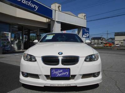 E93型 アルピナB3 ビターボ カブリオレ アルピンホワイトが入庫致しました!★ご購入後のメンテナンスも元BMW正規ディーラーメカニック多数在籍の「つたえファクトリーに」お任せ下さい!