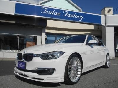 F30型 アルピナB3 ビターボリムジン アルピンホワイトが入庫致しました。ご購入後のメンテナンスも元BMW正規ディーラーメカニック在籍の「つたえファクトリー」にお任せ下さい!