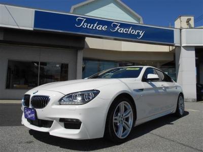 BMW F06 640i グランクーペ Mスポーツパッケージ 大人気アルピンホワイト入庫致しました! ★ご購入後のメンテナンスも元BMW正規ディーラーメカニック多数在籍の「つたえファクトリーに」お任せ下さい!