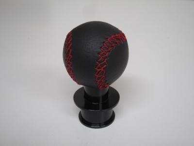 Corn Knobレザー(red-black)