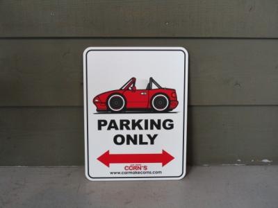 PARKING SIGN(NA赤)