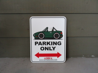 PARKING SIGN(NA緑)