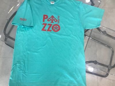 PAZZO original Tシャツ ターコイズブルー