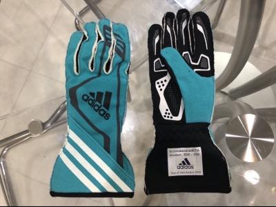 adidas アディダス レーシンググローブ RSR Glove FIA公認  特別カラー