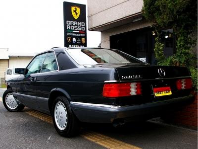 ★名車W126のクーペ560SECはコンディション良好な個体が数が少なくなってきました。どうぞお早目のご検討を♪
