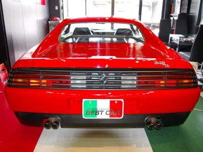 ■トンネルバックのリアデザインこそV8フェラーリという貴方に♪