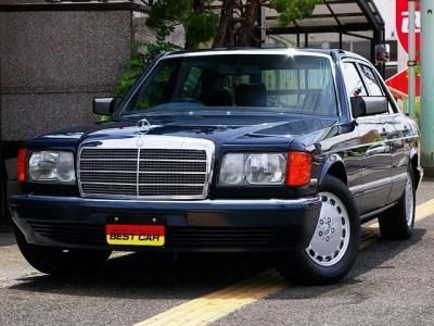 ★美しいボディデザインと王者の風格を持ち合わせたW126 Sクラス。20世紀に生まれた「名車」のひとつです♪ ★インナーグリル&ボンネット・マスコット新品交換済みです♪
