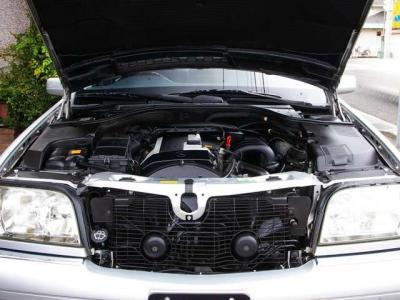 ★定評のある3.2リットルの直列6気筒DOHCエンジン搭載です♪ ★ACコンプレッサー、ACブロアモーター、ファンベルト、ウォーターポンプ、スパークプラグ、エンジン&ATマウント等交換済みです♪