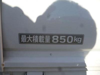 最大積載は850kgまで!