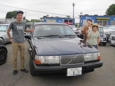 静岡からお越しのIさま!ボルボ940エステートご成約誠にありがとうございました♪