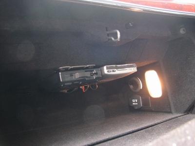 ★ETC&ドライブレコーダー本体はグローブBOX内に取付けられております!!★