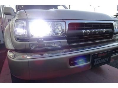 社外ヘッドライト&LEDヘッドライト球&クリスタルコーナーマーカー&クリスタルフロントウィンカー付!