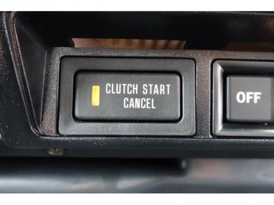 クラッチスタートキャンセルスイッチ付ですので、安心です!
