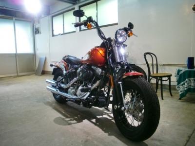 ハーレークロスボーンズ CR−1バイクコーティング施工!