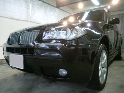 BMW �3Mスポーツ(E83)ボディーガラスコーティング施工!