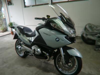 BMW R1200RT CR−1バイクコーティング施工!