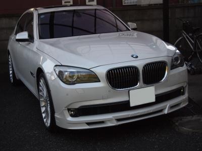 BMW7シリーズハイブリットボディーコーティング施工車