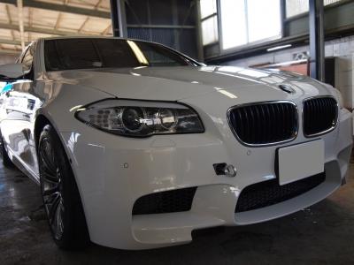 BMW M5(F10)ボディーコーティング施工車