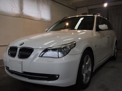 BMW525ツーリング(E61)ボディーコーティング施工