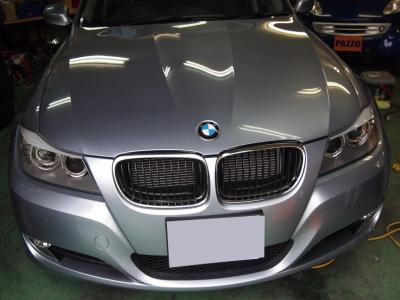 BMW320ツーリング(E91)ボディコーティング施工!