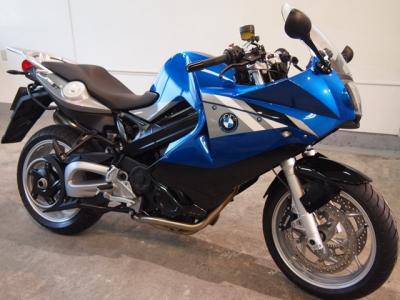 BMW F800ST CR−1バイクコーティング施工車輌