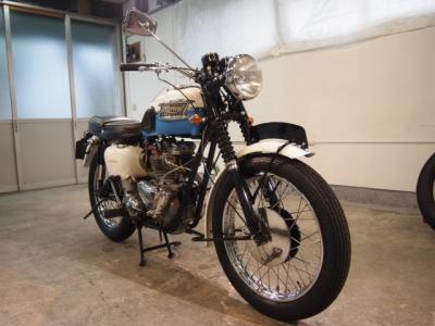 トライアンフ TR6 CR−1バイクコーティング施工車