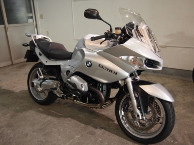 BMW R1200ST CR−1バイクコーティング施工!
