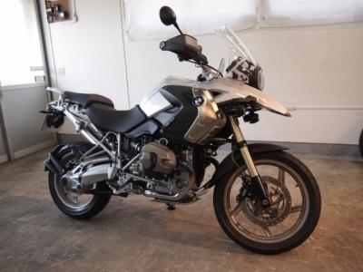 BMW R1200GS CR−1バイクコーティング施工!