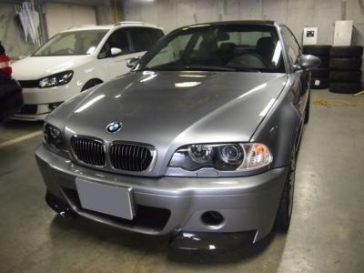BMW M3ボディコーティティング施工